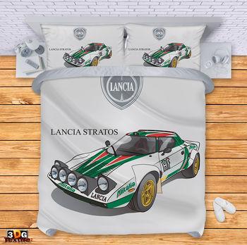 Lenjerie de pat Lancia Stratos 2