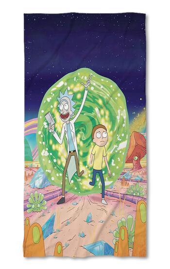 Prosop de plajă Rick and Morty 3