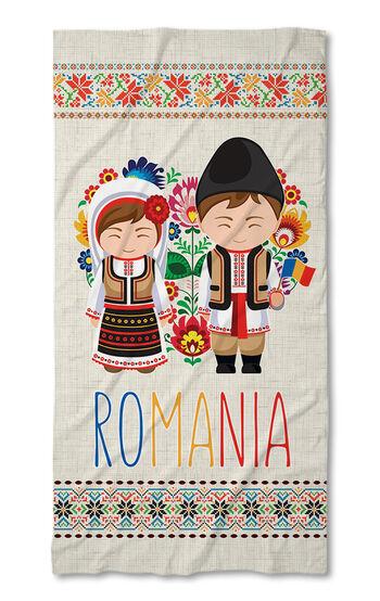 Prosop de plajă Folk Line 2021 Romania
