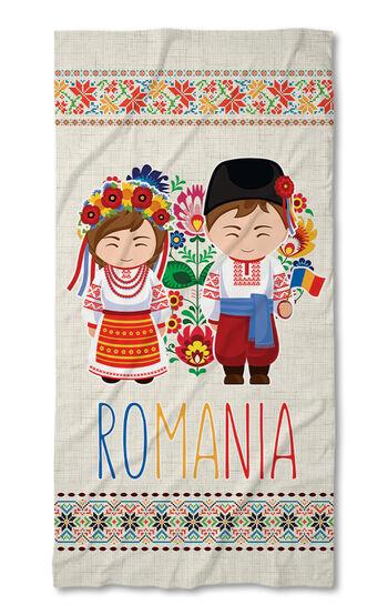 Prosop de plajă Folk Line 2021 Romania 2