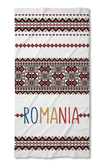 Prosop de plajă Folk Line 2021 Romania 5